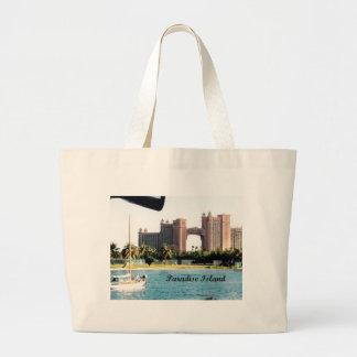 Paradise Island Large Tote Bag