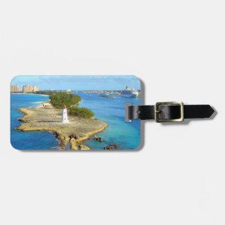 Paradise Island Light Personalized Luggage Tag