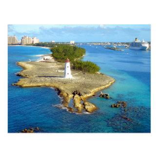 Paradise Island Light Postcard