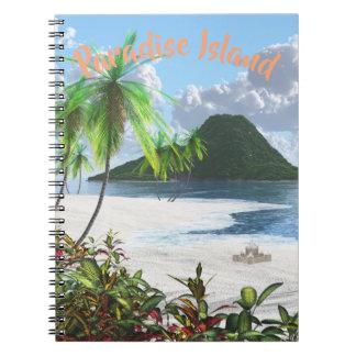 Paradise Island Notebook
