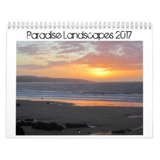 Paradise Landscapes 2017 Calendar