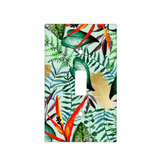 Paradise Light Switch Cover