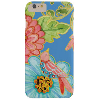 Paradise Love Birds Floral Modern Stylish Flowers Barely There iPhone 6 Plus Case