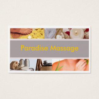 Paradise Massage Business Card