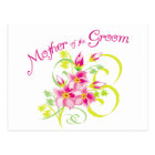 Paradise Mother of the Groom Gifts Postcard
