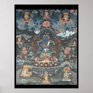 Paradise of Amitabha Tibetan Thangka Poster