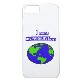 Paradise on Earth Iphone Cover