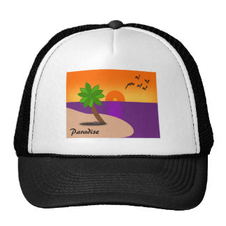 Paradise on the Beach Trucker Hat