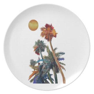 Paradise Palms Plate