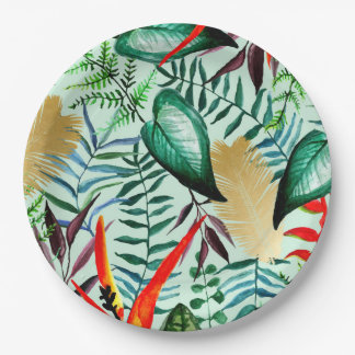Paradise Paper Plate