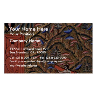Paradise Paradise The Four Rivers And The Gate O Business Card Template