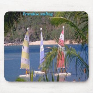 Paradise sailing, mousepad