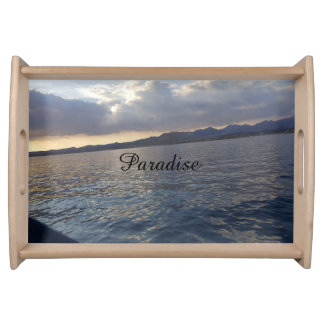 Paradise serving tray