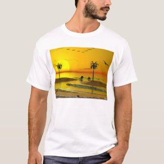 Paradise Shore Sunset T-Shirt