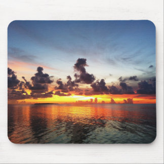 Paradise Sunset Mouse Pad
