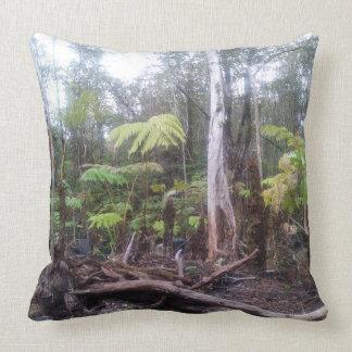 Paradise Unplugged Big Island Hawaii Throw Pillow