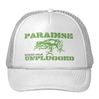 PARADISE UNPLUGGED - BIG ISLAND, HAWAII TRUCKER HAT