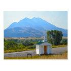 Paradise Valley Chapel, Montana Postcard
