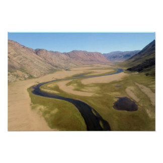 Paradise Valley Greenland Poster