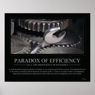 Paradox of Efficiency Poster