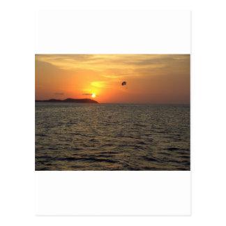 Paraglider at Sunset.JPG Postcard