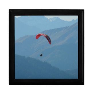 Paraglider Paragliding Para Glide Keepsake Box