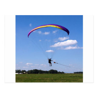 Paraglider Postcard