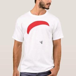 paraglider red - paragliding T-Shirt