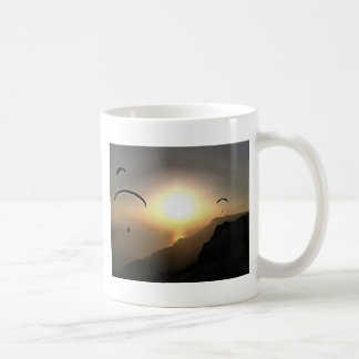 Paragliders Flying Without Wings Coffee Mug