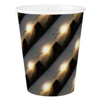 Paragliders Flying Without Wings Paper Cup