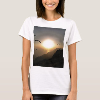 Paragliders Flying Without Wings T-Shirt