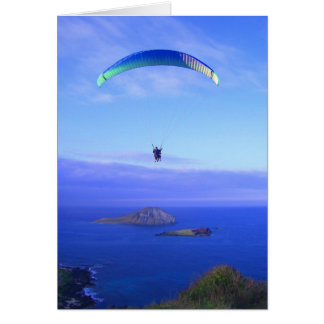 Paragliding at Makapuu Card