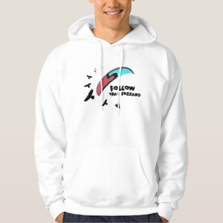 Paragliding - Follow the Buzzard Hoodie