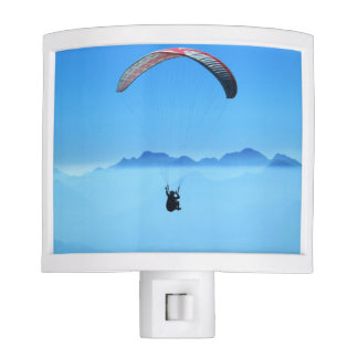 Paragliding gerlitz glacier night lites