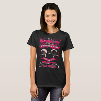 Paragliding Girl Heart On Sleeve Fire In Soul Tees