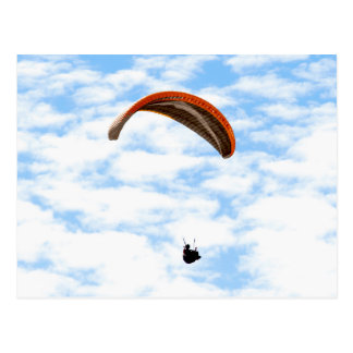 Paragliding in the Clouds Postcard