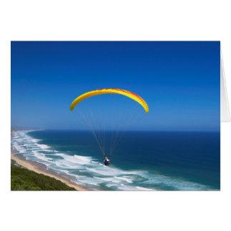 Paragliding Near Wilderness, Garden Route Card