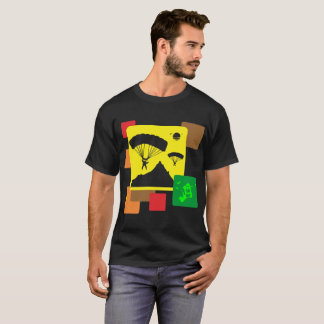 Paragliding Outdoors Sports Lifestyle Tshirt