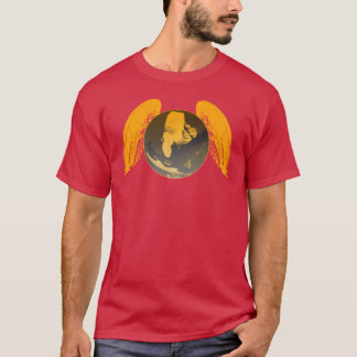 PARAGLIDING PG-CIRCLE 004 Ponto Central T-Shirt