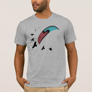 Paragliding with Buzzard T-Shirt