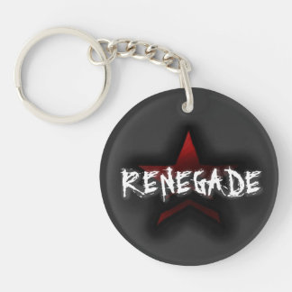 Paragon or Renegade: Double-sided Key-chain Double-Sided Round Acrylic Keychain