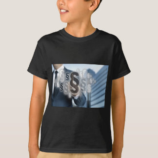 Paragraphs are selected by businessman T-Shirt