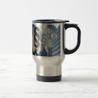 Paragraphs are selected by businessman travel mug
