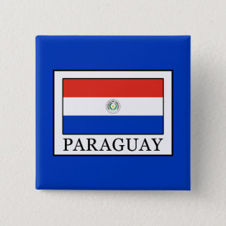Paraguay 2 Inch Square Button