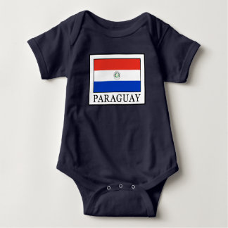 Paraguay Baby Bodysuit