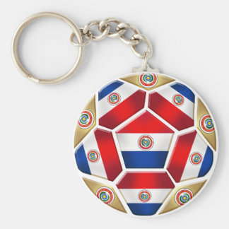 Paraguay ball 2010 2014 soccer ball gifts keychain