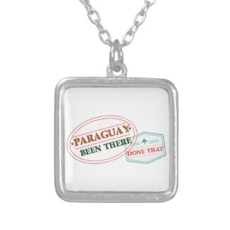 Paraguay Been There Done That Silver Plated Necklace