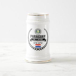 Paraguay Beer Stein