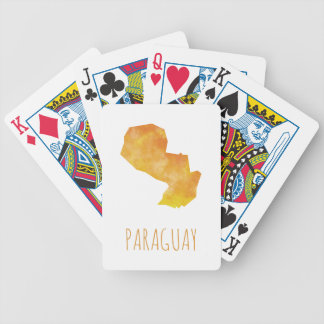 Paraguay Bicycle Playing Cards