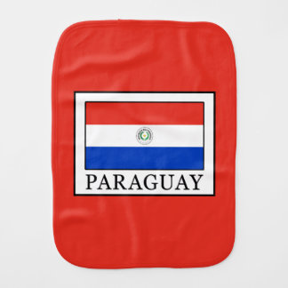 Paraguay Burp Cloth